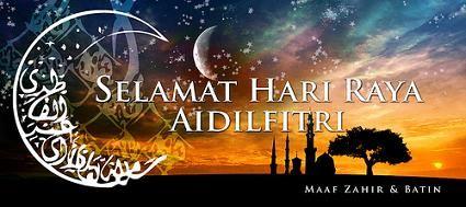 Sunnah Rasulullah SAW di Aidilfitri