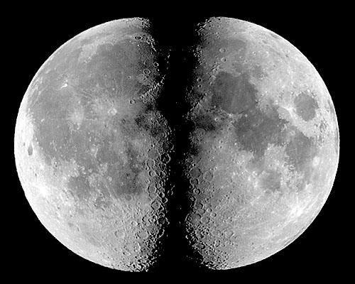 Misteri Terbelahnya Bulan