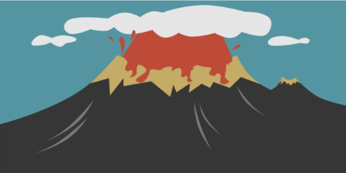 Gunung Toba purba