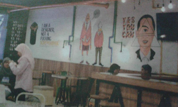 Anak Jokowi Membuka Kafe Dajjal