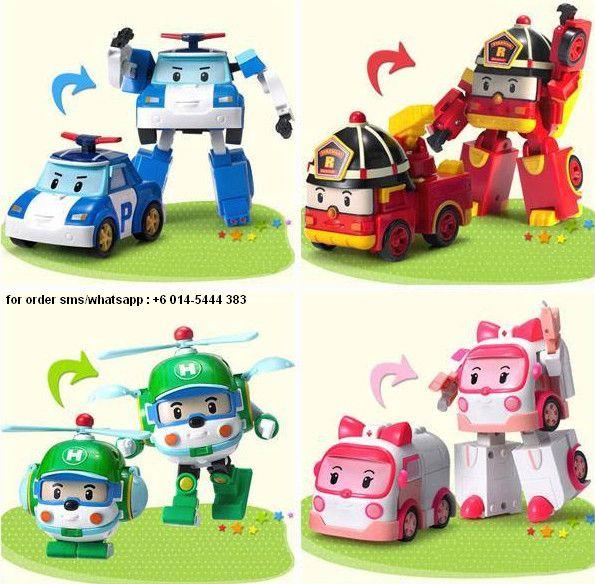 Robocar Poli Toys Murah