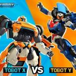 Tobot X dan Tobot Y Permainan Yang Diminati Kanan-kanak