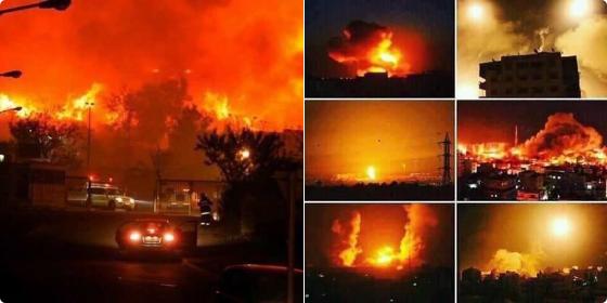 israel-dilanda-kebakaran-besar-tiupan-angin-marakkan-api-sehingga-tidak-dapat-dikawal