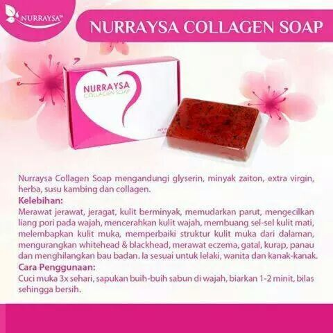 sabun kolagen nurraysa murah