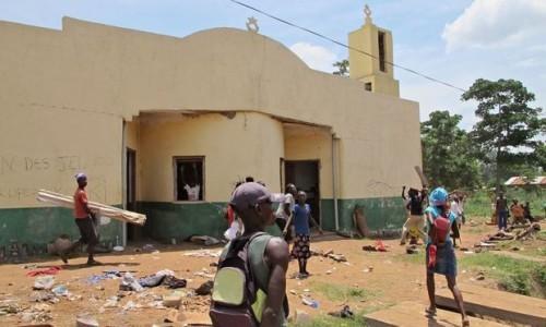 Puak Kristian musnah 436 masjid di Republik Afrika Tengah