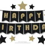 Happy Birthday Bunting Banner Murah Ipoh